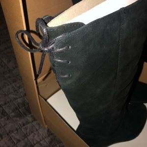 UGG Shoes - UGG Wedge Suede Boots NEW